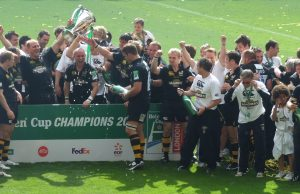 Wasps Celebrate Heineken Cup Win